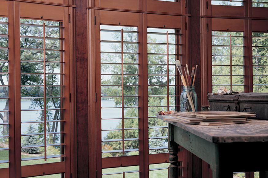 Los Altos Hills, CA window shutters