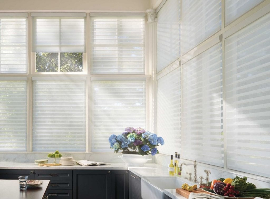 Window shades in Los Altos Hills, CA